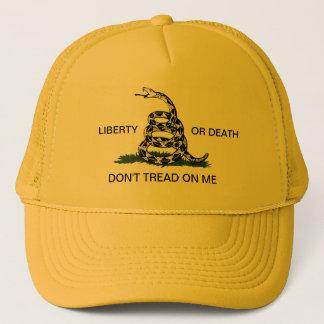 Casquette La liberté ou la mort de Gadsden ne marchent pas