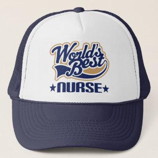 Casquette La meilleure infirmière des mondes