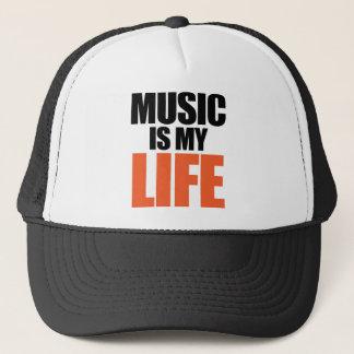Casquette La musique est ma vie