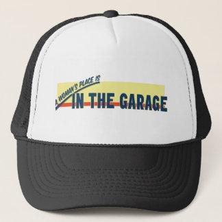 Casquette La place d'une femme est dans le garage