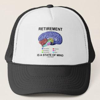 Casquette La retraite est un état d'esprit (le cerveau