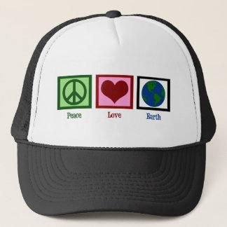 Casquette La terre d'amour de paix