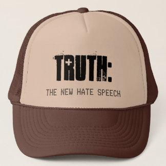 Casquette La vérité est le nouveau discours de haine -