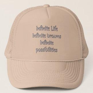 Casquette La vie infinie, rêves infinis, infinis…