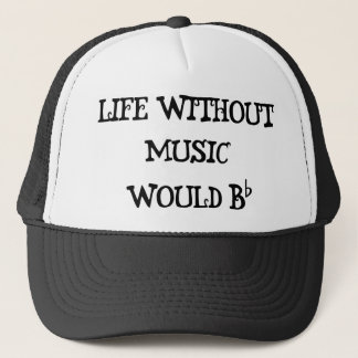 Casquette La vie sans musique