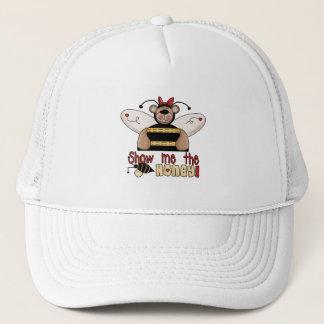 Casquette L'abeille me montrent les T-shirts et les cadeaux