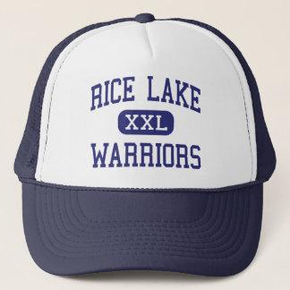 Casquette Lac rice - guerriers - haut - lac le Wisconsin