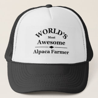 Casquette L'agriculteur de l'alpaga le plus impressionnant