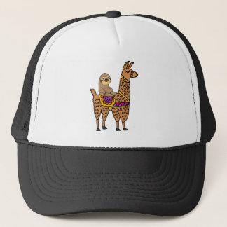 Casquette Lama drôle frais d'équitation de paresse