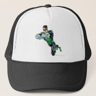 Casquette Lanterne verte - comique, les deux bras en avant