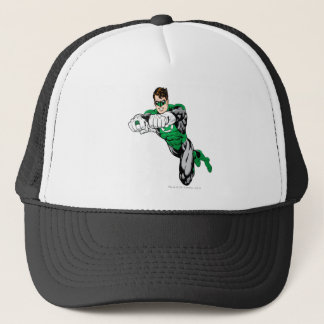 Casquette Lanterne verte - les deux bras en avant