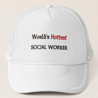 Casquette L'assistant social le plus chaud des mondes