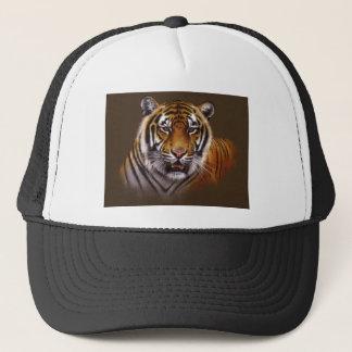 Casquette Le Bengale font face au tigre