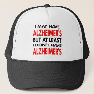 Casquette Le blanc peut avoir Alzheimers