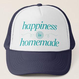 Casquette Le bonheur est fait maison