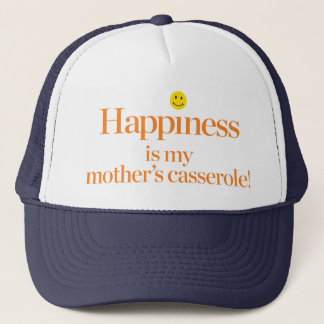 Casquette Le bonheur est la cocotte en terre de ma mère