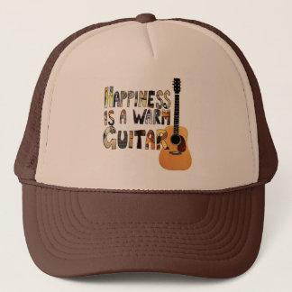 Casquette Le bonheur est une guitare chaude