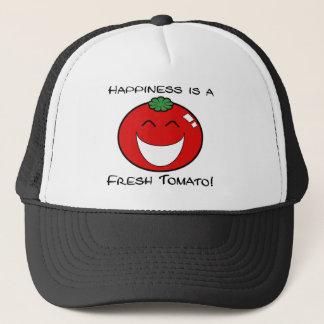 Casquette Le bonheur est une tomate fraîche !