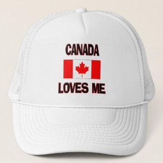 Casquette Le Canada m'aime