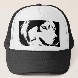 Casquette Le chien de traîneau couvre le cadeau de