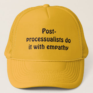 Casquette Le Courrier-processualists le font avec l'empathie