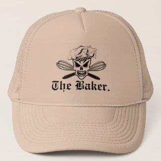 Casquette Le crâne de chef et bat : Baker