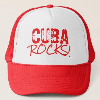Casquette Le CUBA bascule le vert de mots