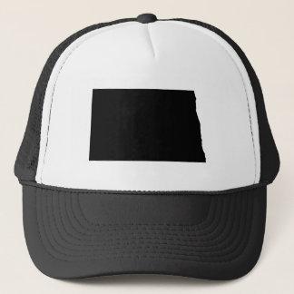 Casquette Le Dakota du Nord en noir et blanc