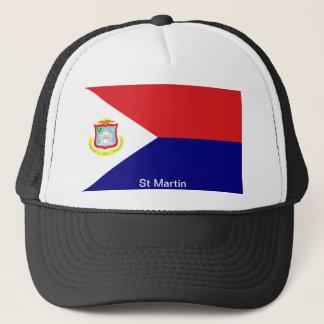 Casquette Le drapeau de St Martin