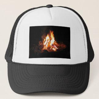 Casquette Le feu de Bonne de fève de partie de feu