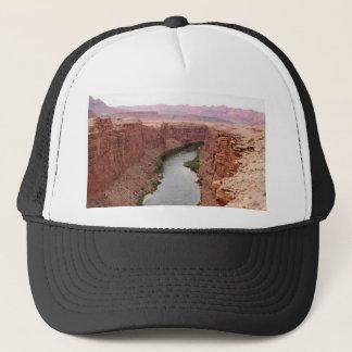 Casquette Le fleuve Colorado près du pont de Navajo,
