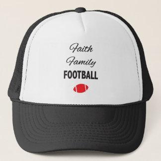 Casquette Le football de famille de foi pour des fans
