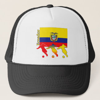 Casquette Le football Equateur