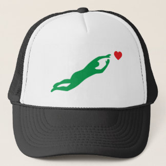 Casquette Le football gardien de but goal de keeper soccer