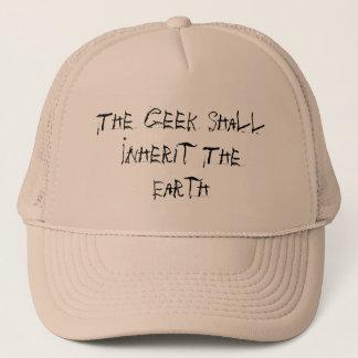 Casquette Le geek héritera de la terre