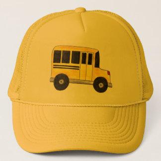 Casquette Le grand chauffeur d'autobus scolaire jaune
