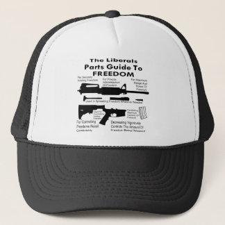 Casquette Le guide de pièces de libéraux de la liberté