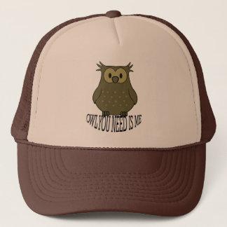Casquette le hibou que vous avez besoin est moi