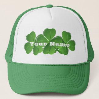 Casquette Le jour de St Patrick d'Irlandais de Personlalized
