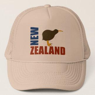 Casquette Le kiwi de la Nouvelle Zélande tient le premier