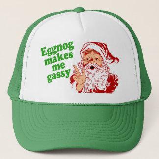 Casquette Le lait de poule fait le pet de Père Noël