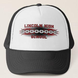 Casquette Le lycée de Lincoln lie le GRD de noir