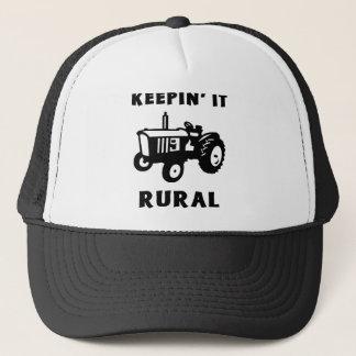 Casquette Le maintenant rural