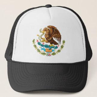 Casquette Le manteau des bras du symbole du Mexique