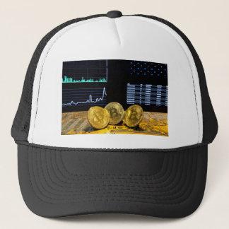 Casquette Le marché de circuit de trio de Bitcoin dresse une
