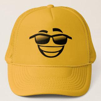 Casquette Le mauvais au type Emoji de cool d'os