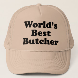 Casquette Le meilleur boucher des mondes