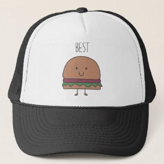 Casquette le meilleur hamburger