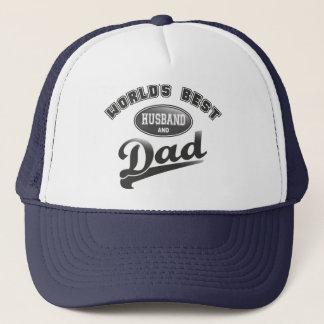 Casquette Le meilleur mari et le papa du monde