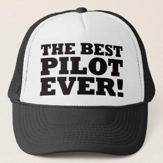 Casquette Le meilleur pilote jamais